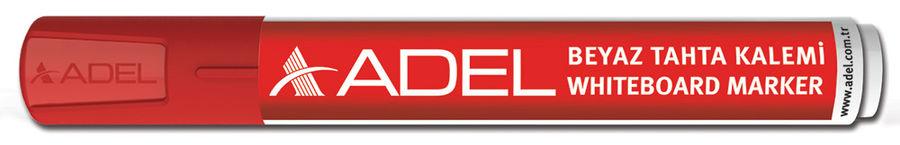 Маркер для досок Adel 420-1882-030 круглый пиш. наконечник 2мм красный