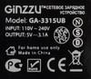 Сетевое зарядное устройство GINZZU GA-3315UB,  3xUSB,  3.1A,  черный вид 3