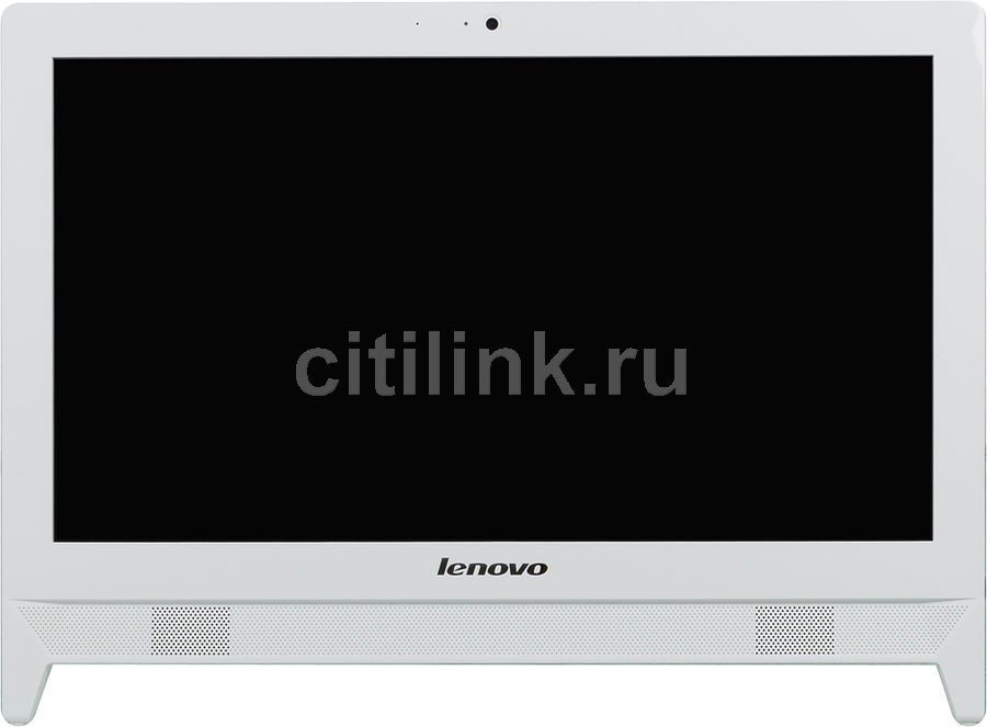 Моноблок LENOVO c20-30, Intel Pentium 3558U, 4Гб, 500Гб, Intel HD Graphics, DVD-RW, Free DOS, белый [f0b2000prk]