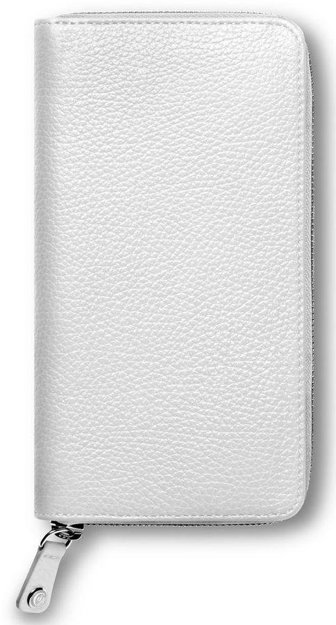Кошелек женский Carandache Leman 6214.001 белый натур.кожа