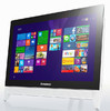 "Моноблок Lenovo c20-05 19.5"" Full HD A6 6310/6Gb/1Tb/DVDRW/W8.1/kb/m/белый 1920x1080 [f0b3001drk] вид 1"