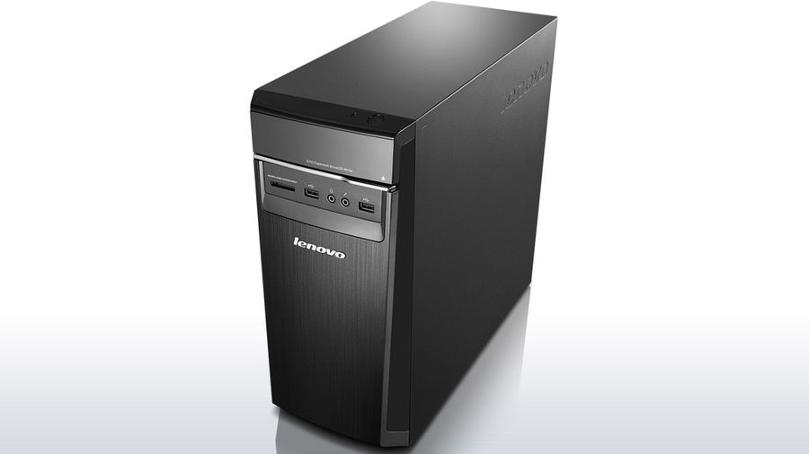 Компьютер  LENOVO H50-50,  Intel  Pentium  G3250,  DDR3 4Гб, 500Гб,  nVIDIA GeForce GT705 - 1024 Мб,  DVD-RW,  CR,  Windows 8.1,  черный [90b70027rs]