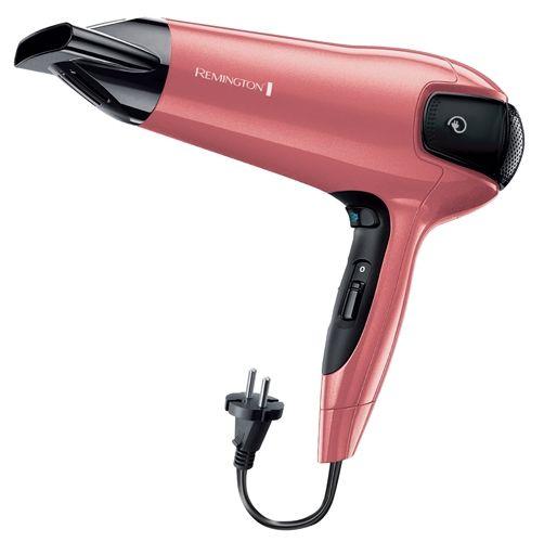 Фен REMINGTON D5801, 2100Вт, розовый
