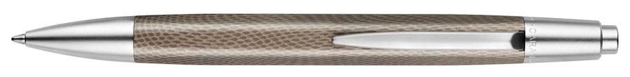 Ручка шариковая Carandache Office Alchemix (4881.021) корпус:Reptile/Matt Chrome M синие чернила под