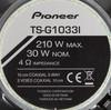 Колонки автомобильные PIONEER TS-G1033I,  коаксиальные,  210Вт вид 3