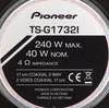 Колонки автомобильные PIONEER TS-G1732I,  коаксиальные,  240Вт вид 3