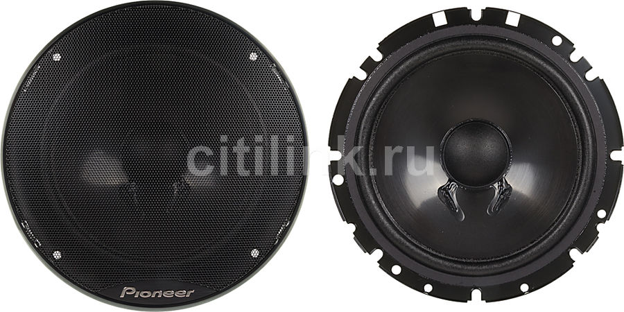 Колонки автомобильные PIONEER TS-G173Ci,  компонентные,  280Вт
