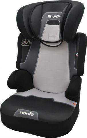 Автокресло детское NANIA Befix SP PL (melbourne black), 2/3, черный/серый [793066]