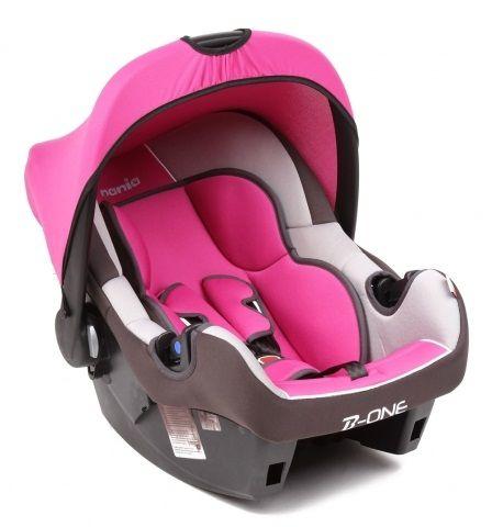 Автокресло детское NANIA Beone SP LX (agora framboise), 0/0+, розовый/серый [493124]