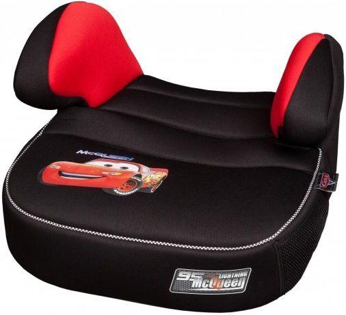 Бустер NANIA Dream LX (cars), 2/3, черный/красный [253110]