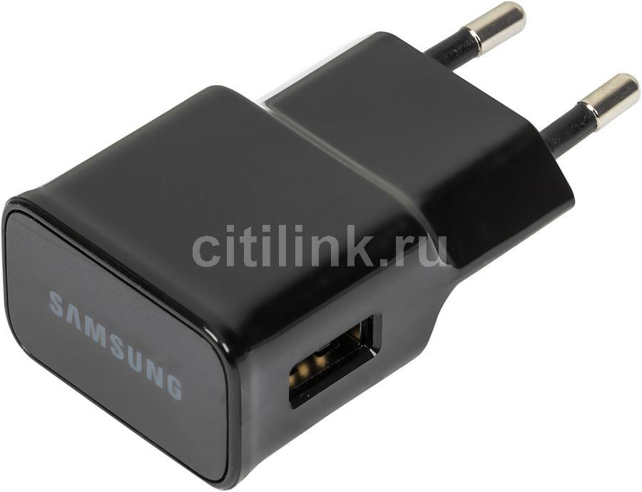 Сетевое зарядное устройство SAMSUNG EP-TA12EBEUGRU,  USB,  microUSB 2.0,  2A,  черный