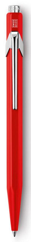 Ручка шариковая Carandache Office Classic (849.070) красный M синие чернила без упак.
