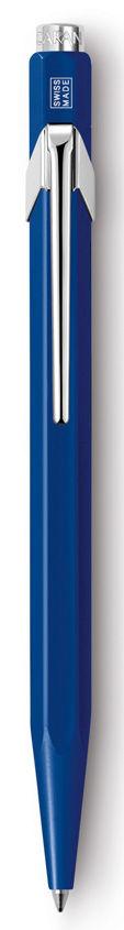 Ручка шариковая Carandache Office CLASSIC (849.150) Sapphire Blue M синие чернила без упак.