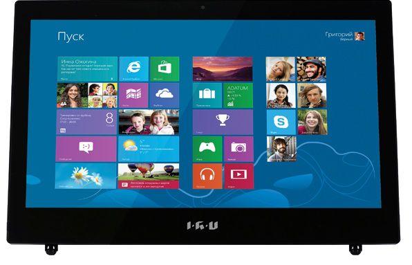 Моноблок IRU L1803, Intel Celeron 1037U, 4Гб, 500Гб, Intel HD Graphics, Intel HD Graphics, DVD-RW, Windows 8.1, черный [989549]