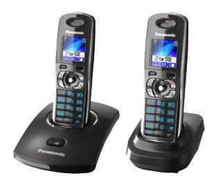 Радиотелефон PANASONIC KX-TG8302RUT,  серый