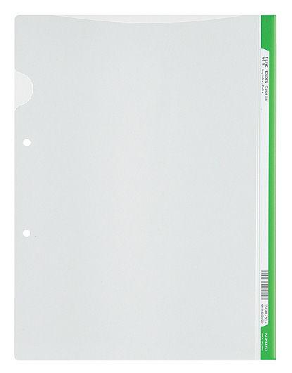 Папка-уголок Kokuyo Colours FU-C750-6-LG A4 пластик 0.2мм зеленый