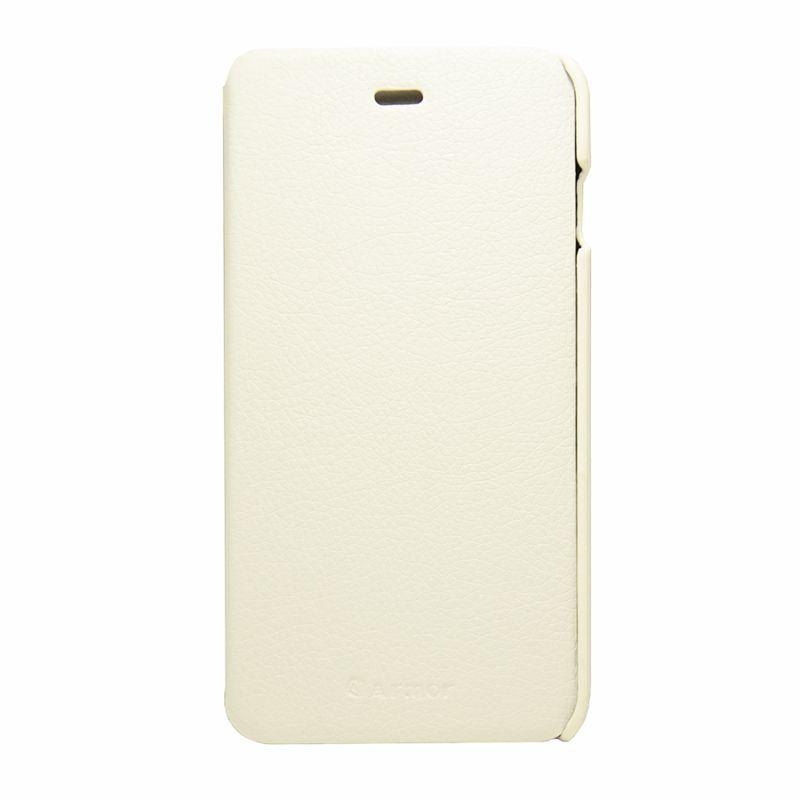 Чехол (флип-кейс) ARMOR-X book, для Apple iPhone 6 Plus, белый