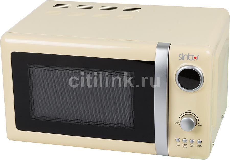 Микроволновая печь SINBO SMO 3645, слоновая кость