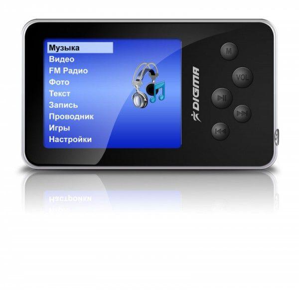 MP3 плеер DIGMA MP640 flash 1Гб черный