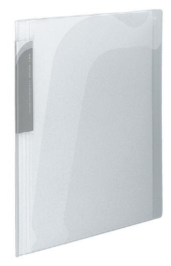 Папка-уголок Kokuyo Novita RA-N205T 5 внутр.карман A4 карм.Zip заст. прозрачный/белый
