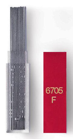 Грифели Carandache (6707.350) 0.7мм для механических карандашей (12шт)