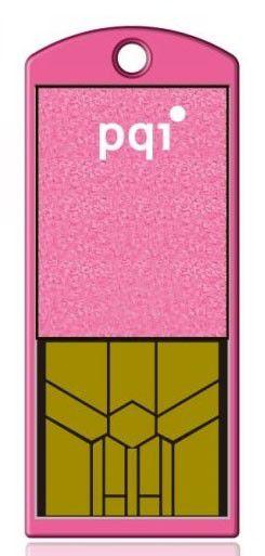 Флешка USB PQI Traveling Disk i201 2Гб, USB2.0, розовый