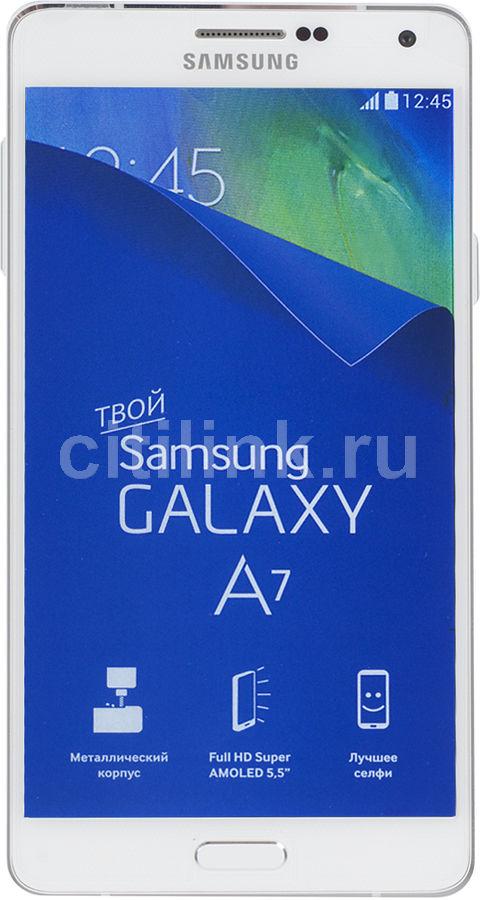 Смартфон SAMSUNG Galaxy A7 Duos SM-A700FD  белый