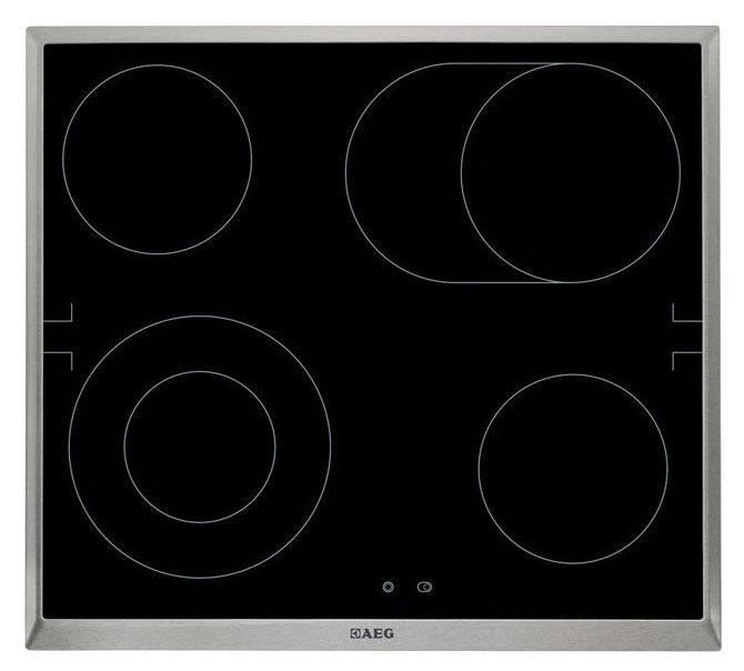 Варочная панель AEG HE560406XB,  зависимая,  черный