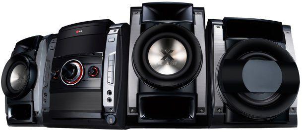 Музыкальный центр LG DM5640K,  черный