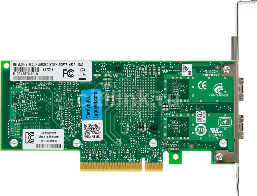 Сетевая карта Intel Original E10G42BTDABLK (E10G42BTDABLK 927249)