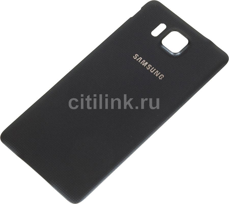 Задняя крышка SAMSUNG Back Cover,  Samsung Galaxy Alpha,  черный [ef-og850sbegru]