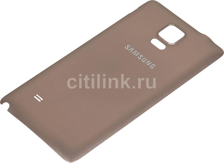 Задняя крышка SAMSUNG EF-ON910SEE,  Samsung Galaxy Note 4,  золотистый [ef-on910seegru]