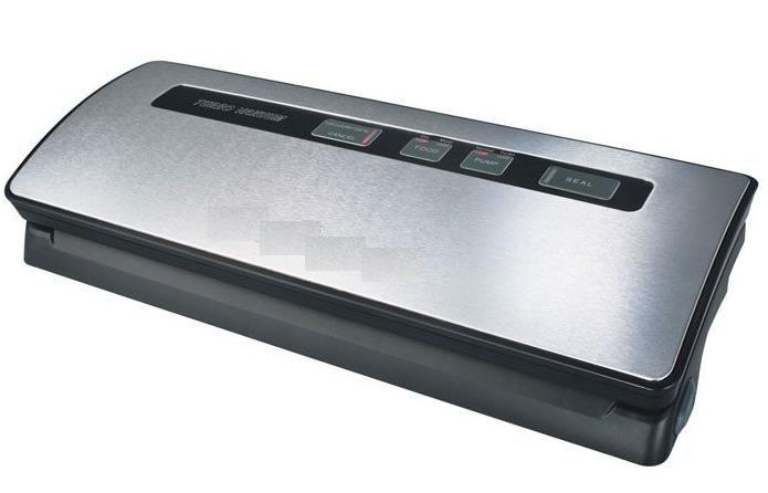 Вакуумный упаковщик Redmond RVS-M020 120Вт серебристый/черный [rvs-m020 (серый металлик)]