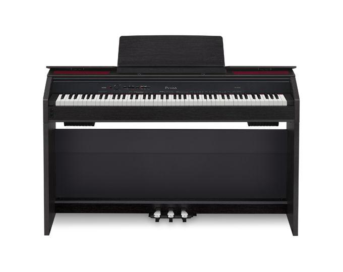 Цифровое фортепиано PRIVIA CASIO PX-860BK, 88, полновзвешенная, полноразмерные, 256, черный