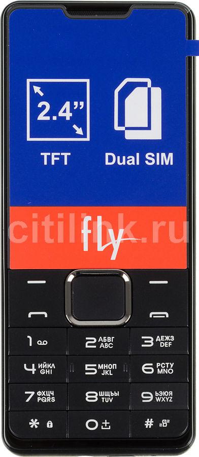 Мобильный телефон FLY DS116  черный