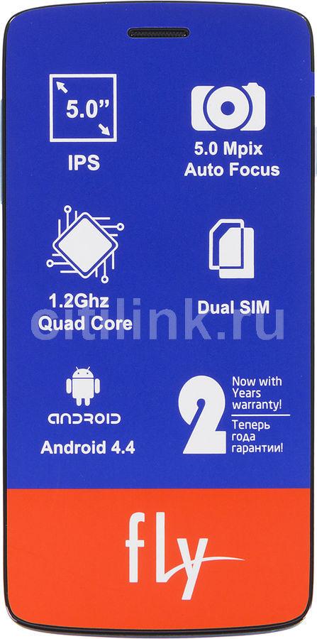 Смартфон FLY Era Life 6 Quad IQ4503  синий