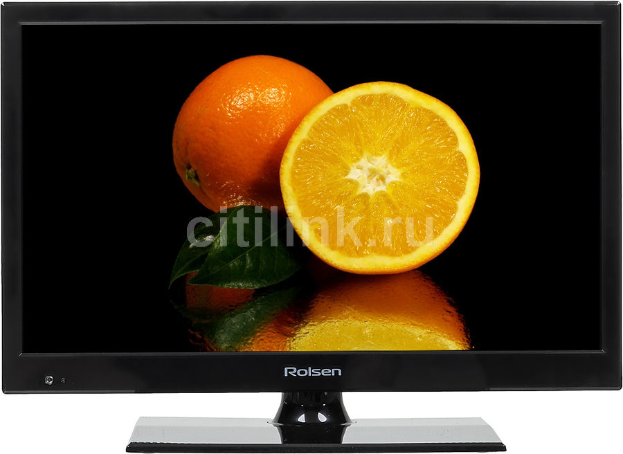 "LED телевизор ROLSEN RL-19E1501T2C  ""R"", 19"", HD READY (720p),  черный"