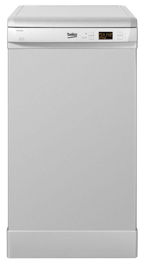 Посудомоечная машина BEKO DSFS 6630 S,  узкая, серебристая