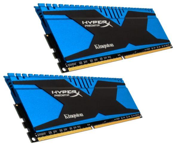 Модуль памяти KINGSTON HyperX Predator HX318C9T2K2/8 DDR3 -  2x 4Гб 1866, DIMM,  Ret