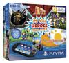 Игровая консоль SONY PlayStation с игрой Heroes Mega Pack,  Vita 2000 Wi-Fi, черный вид 9
