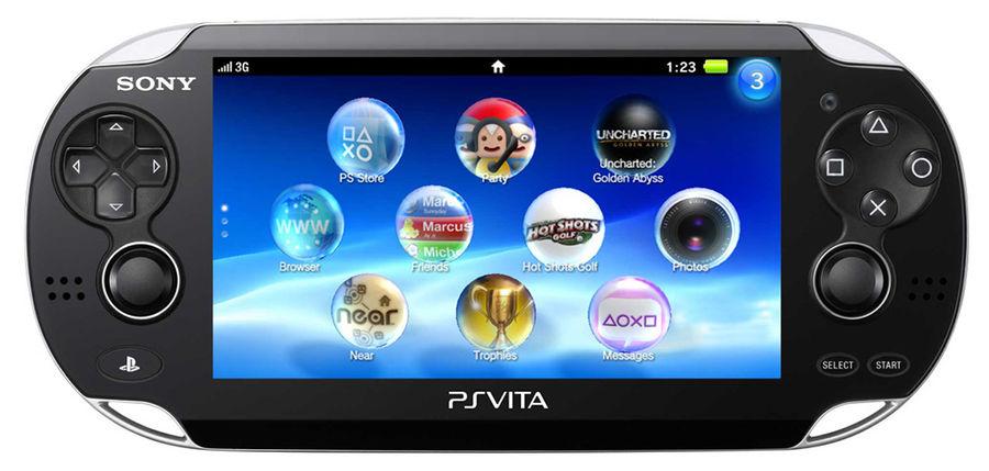 Игровая консоль SONY PlayStation с игрой Heroes Mega Pack,  Vita 2000 Wi-Fi, черный