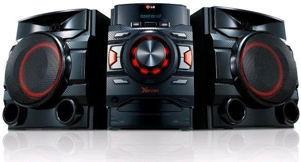 Музыкальный центр LG CM4440,  черный