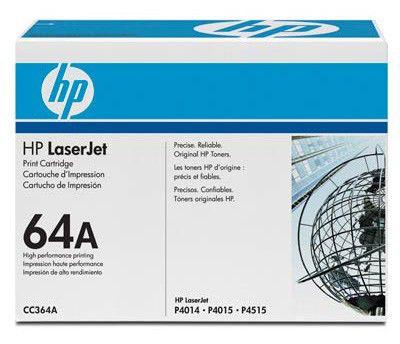 Картридж HP 64A черный [cc364a]