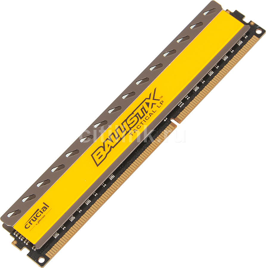 Модуль памяти CRUCIAL Ballistix Tactical BLT8G3D1608ET3LX0CEU DDR3L -  8Гб 1600, DIMM,  Ret,  низкопрофильная