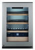 Винный шкаф LIEBHERR Wkes 653,  однокамерный, серебристый вид 2
