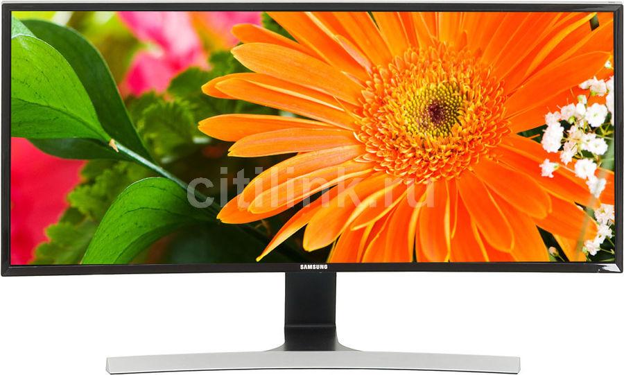 """Монитор Samsung 34"""" S34E790C черный VA LED 4ms 21:9 HDMI DisplayPort M/M Mat HAS U (отремонтированный)"""