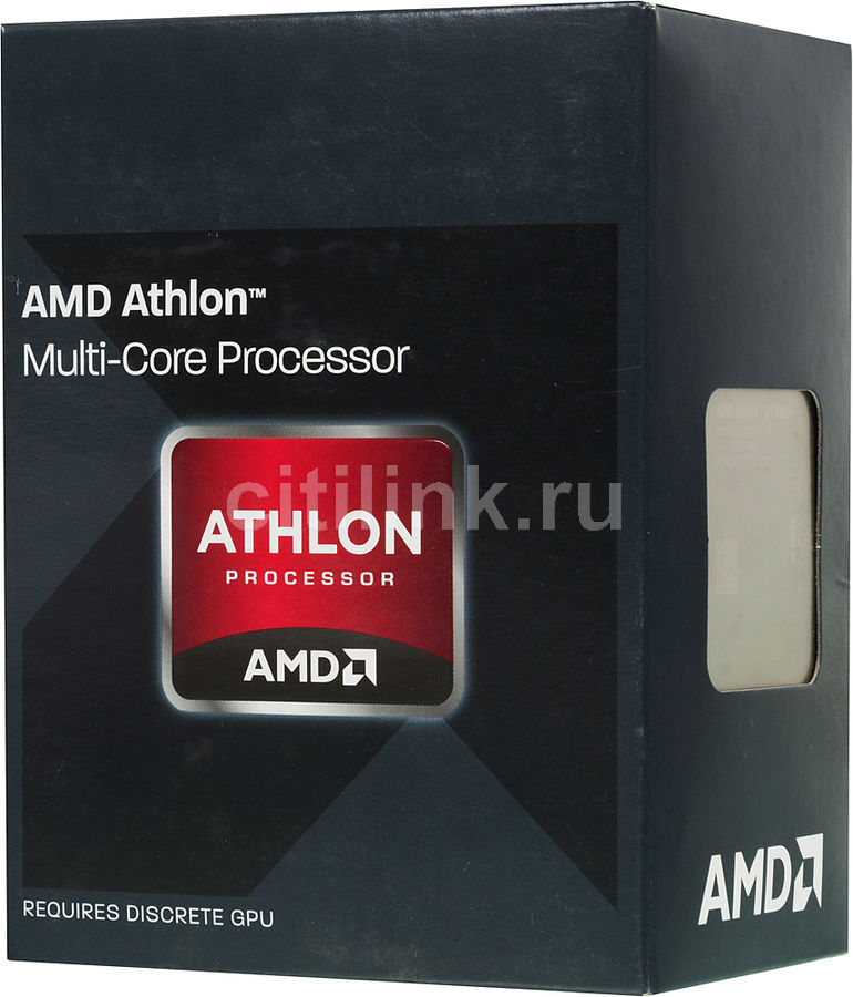 Процессор AMD Athlon X4 860K, SocketFM2+ BOX [ad860kxbjabox]