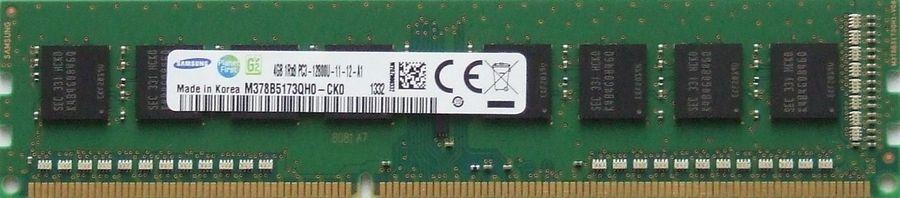 Модуль памяти SAMSUNG M378B5173QH0-CK000 DDR3 -  4Гб 1600, DIMM,  OEM