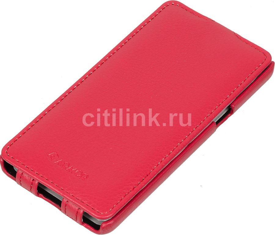 Чехол (флип-кейс) ARMOR-X flip full, для Samsung Galaxy A5, красный
