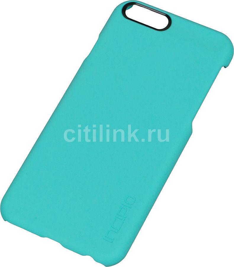 Чехол (клип-кейс) INCIPIO Feather, для Apple iPhone 6, бирюзовый [iph-1177-trq]